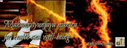 Mahamrityunjaya mantra for health and well-being