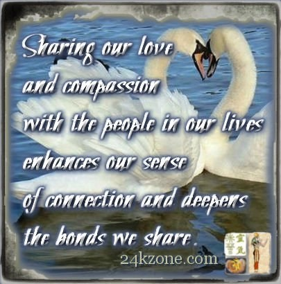 Sharing our love and compassion