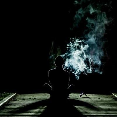 meditation at night