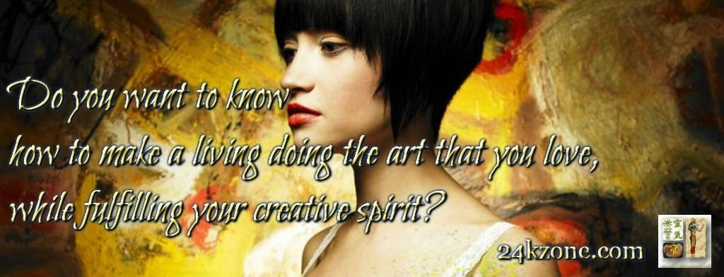 How to make a living doing the art that you love
