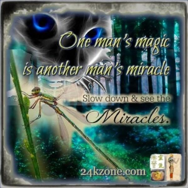 One man's magic