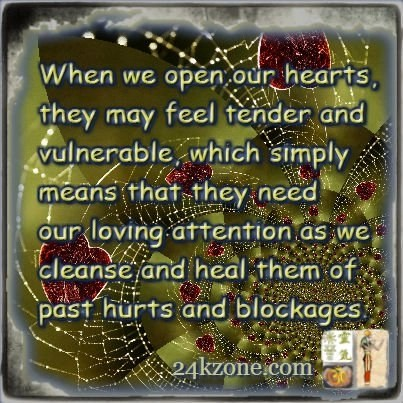 When we open our hearts
