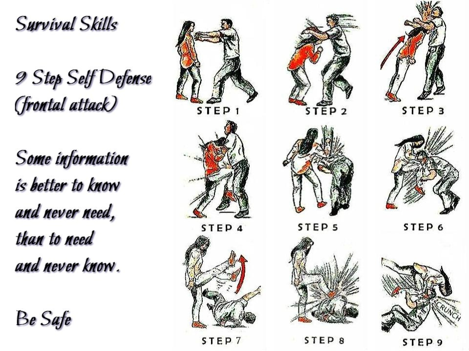 9 step self defense