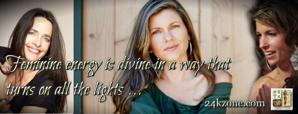 Feminine energy is divine in a way that turns on all the lights