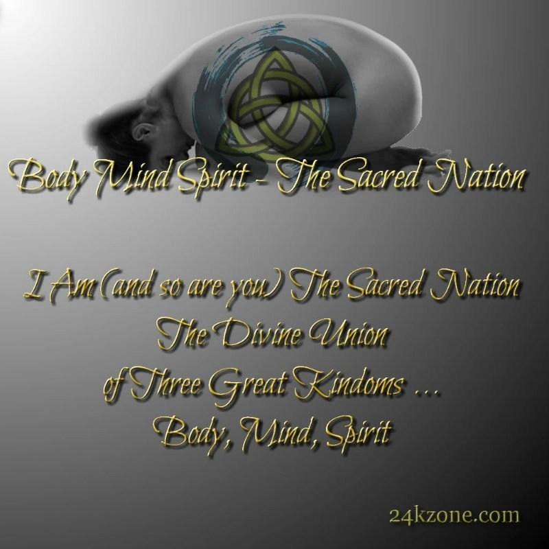 I Am The Sacred Nation