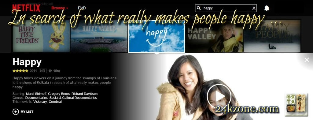 In search of what really makes people happy