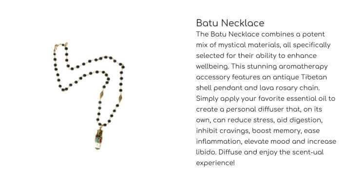 HOT ROCKS JEWELS Batu Necklace