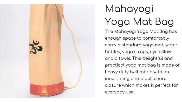 OMSUTRA Mahayogi Yoga Mat Bag