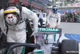 Bottas Mercedes Team Order ordine di scuderia Bottas