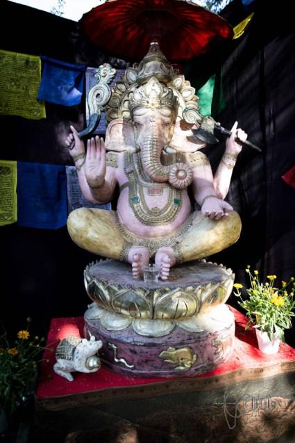 Elephant head god
