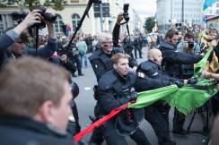 Police removing transparent.