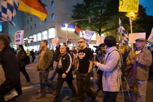 pegida 140915 10 - Convicted neonazi terrorist among the racist rally.