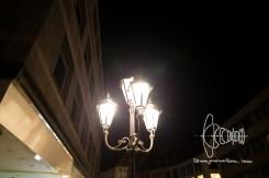 Old style streetlight