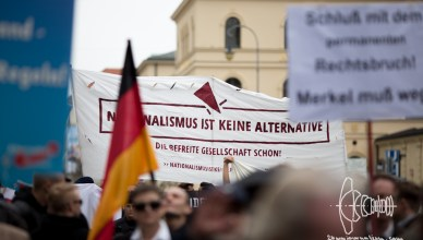 afd odeonplatz 20160416 16 - AfD Munich holds rally on Odeonsplatz