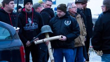 elstnermahnwache 20160425 7 - Neonazis hold Reinhold Elstner memorial rally