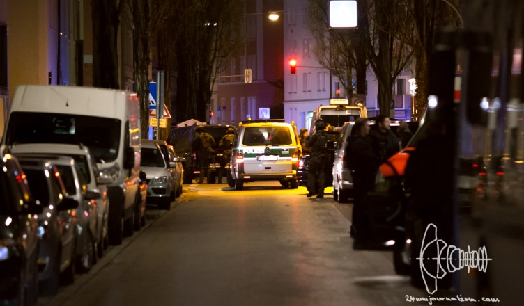 shooting maxvorstadt 20160419 3 - Shootout Maxvorstadt Munich after Custody Case