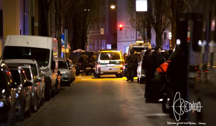 shooting maxvorstadt 20160419 3 - Shootout Maxvorstadt Munich after Custody Case