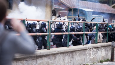 riotbrenner 20160507 5 - Heavy clashes at 'Over the Fortress Europe' demonstration at Brenner