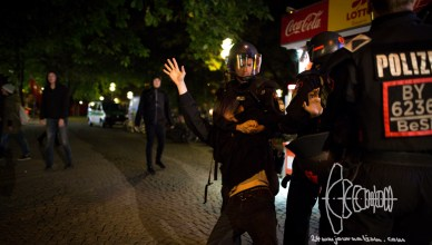pegida 20160926 12 - PEGIDA Munich Marches towards Non-Citizen's Protest Camp