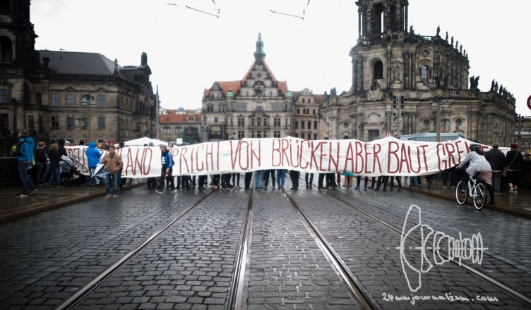 tdde 20161003 14 - Protests against Unification Celebration in Dresden