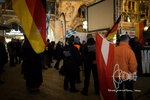 pegida 20170116 8 - Two years of PEGIDA Munich - Neonazis and Violence on Marienplatz