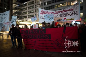 deportation munich airport 20170222 18 - Germany deports to Afghanistan from Munich airport - activists rally at Munich airpor