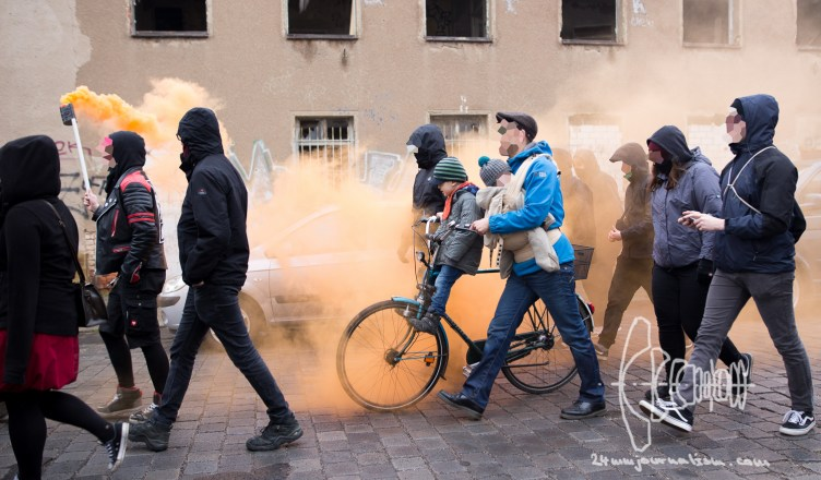 le180 20170318 9 - 'Die Rechte' Rallies in Leipzig- Thousands Join Counter-protest