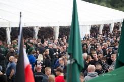 Huge mass of neo-nazis