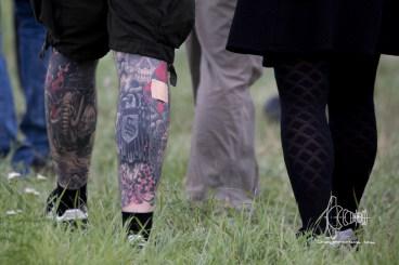 Taped Tattoo with hidden Swastika