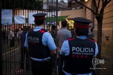 Catalan police watches.