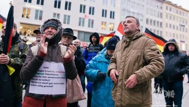 pegida bachmann 20180317 42 - [Picture Gallery] Protest against PEGIDA 'The Original' in Munich