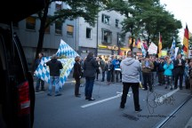 Tatjana Festerling from PEGIDA Dresden holds a speach