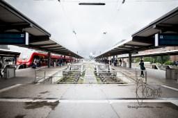 Munich central station.