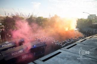 Smoke over Hafenstrasse