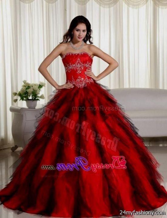 beautiful red ball gowns 2016-2017 » B2B Fashion