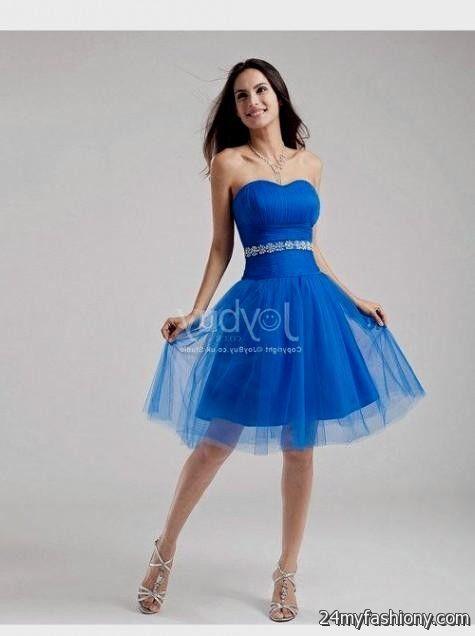 blue winter formal dresses for teenage girls 2016-2017 » B2B Fashion