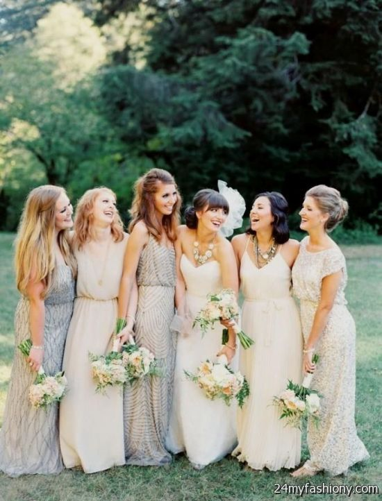 bohemian bridesmaid dresses different styles 2016-2017 » B2B Fashion
