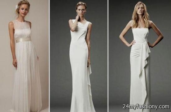 Calvin Klein Wedding Dresses 2016-2017