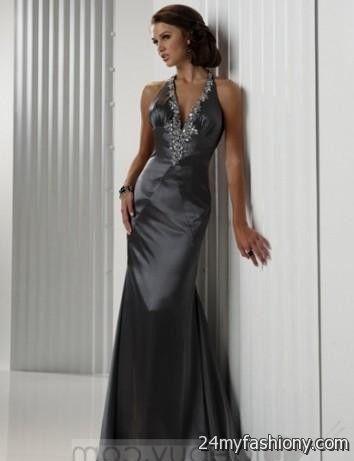 dark silver bridesmaid dresses 2016-2017 » B2B Fashion