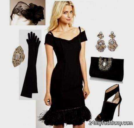 great gatsby inspired dresses black 2016-2017 » B2B Fashion