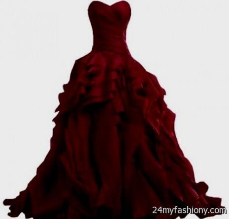 maroon prom dresses tumblr 2016-2017 » B2B Fashion