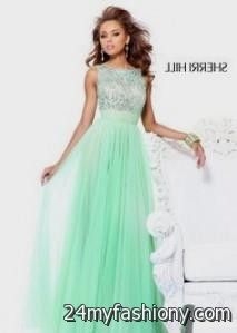 mint green prom dress sherri hill 2016-2017 » B2B Fashion