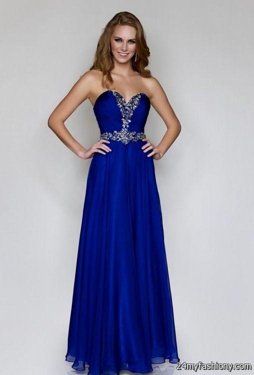 pretty blue prom dresses 2016-2017 » B2B Fashion