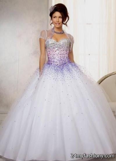 purple and white quinceanera dresses 2016-2017 » B2B Fashion