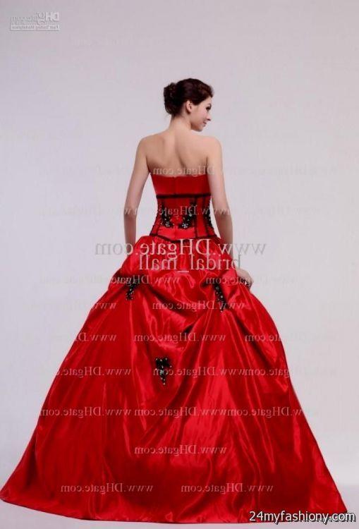 red and black prom dresses 2016-2017 » B2B Fashion