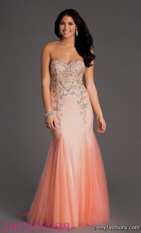 salmon homecoming dresses 2016-2017 » B2B Fashion