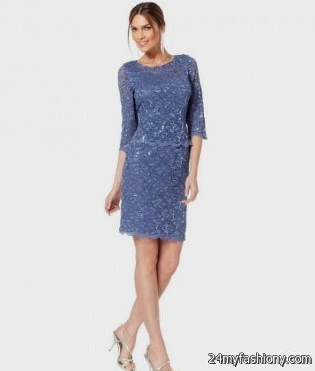 slate blue lace dress 2016-2017 » B2B Fashion
