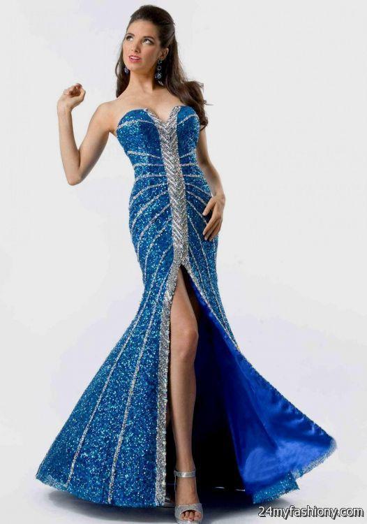 strapless royal blue prom dresses 2016-2017 » B2B Fashion