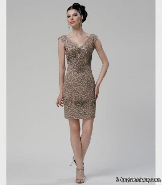 taupe lace prom dress 2016-2017 » B2B Fashion
