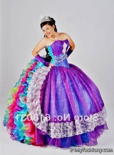 turquoise and purple quinceanera dresses 2016-2017 » B2B Fashion